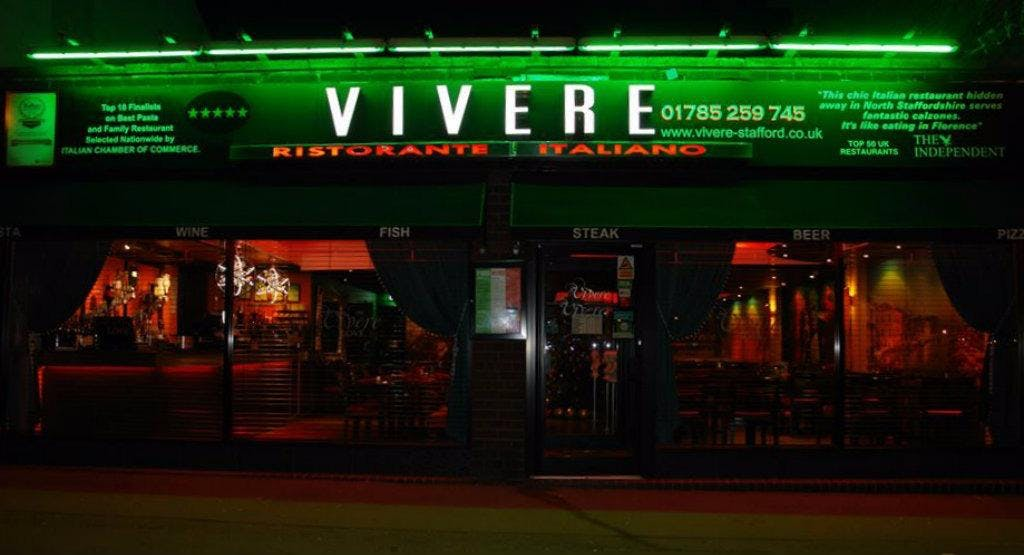 Vivere Italian Restaurant Stafford image 1