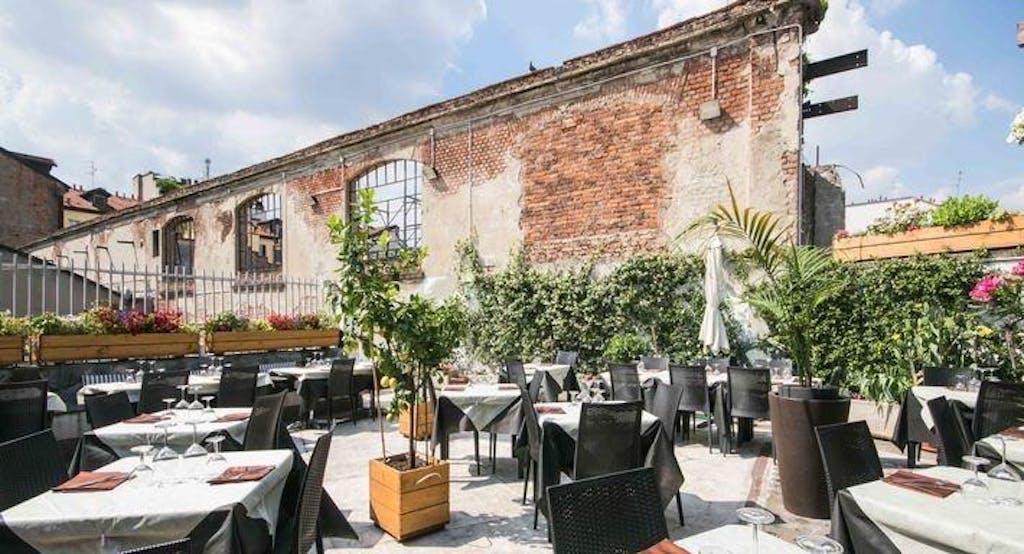 La terrazza all'aperto del Note di Cucina, ristorante di Milano - Fonte: Quandoo