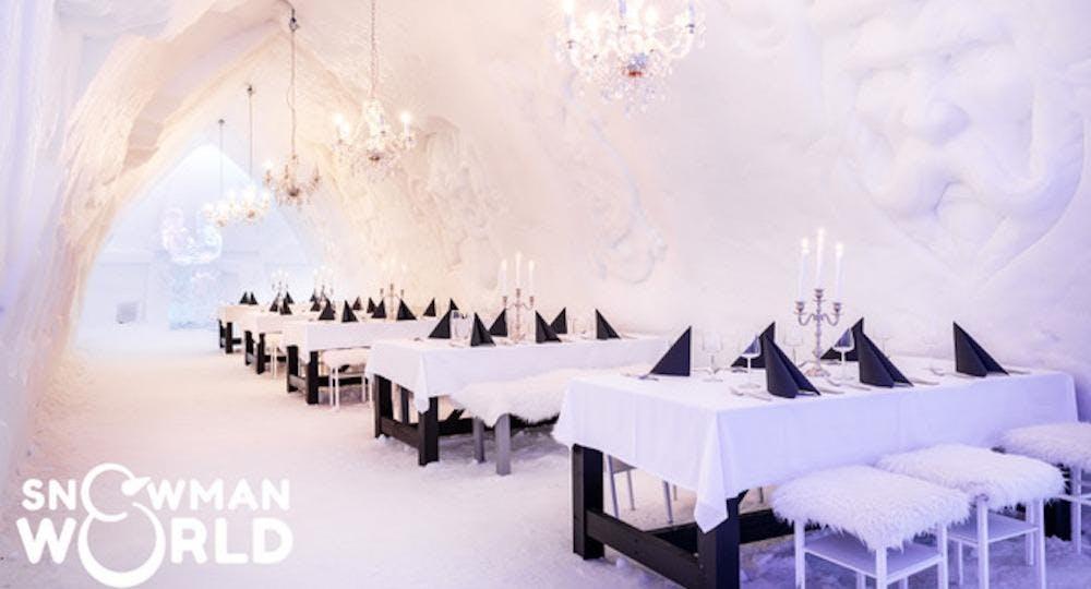 Ice Restaurant - Snowman World