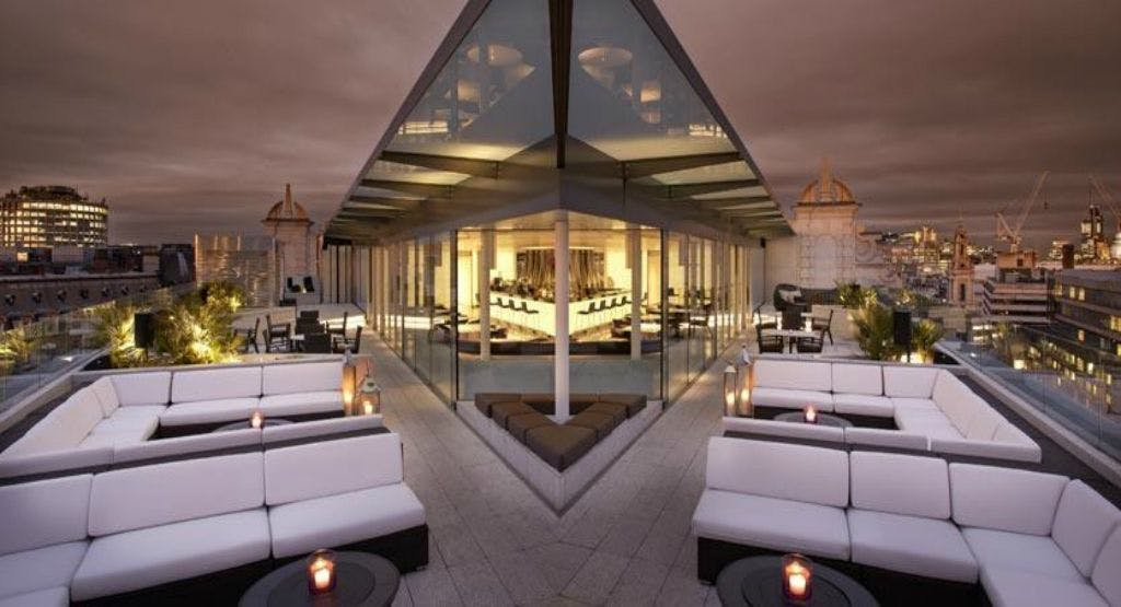 Capeesh Sky Bar London image 1 & Capeesh Sky Bar in London Canary Wharf | Book Online