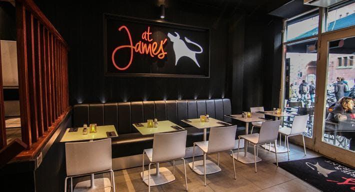 At James