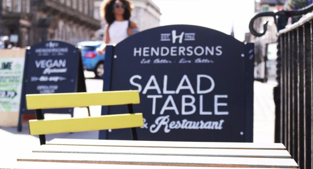 Hendersons Salad Table & Restaurant