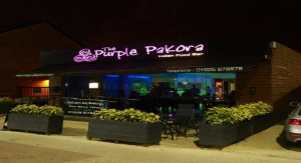 Purple Pakora - Poynton Stockport image 1
