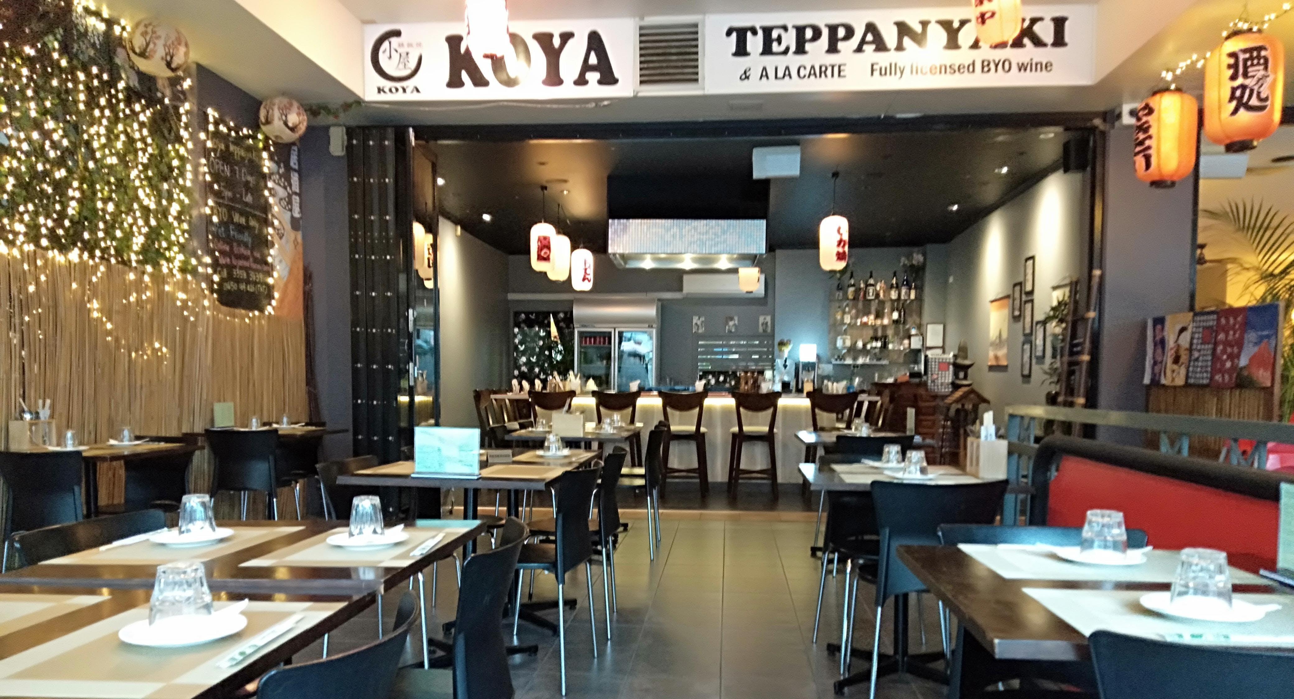 Koya Teppanyaki & A La Carte