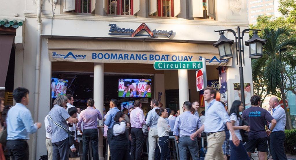 Boomarang - Boat Quay Singapore image 1