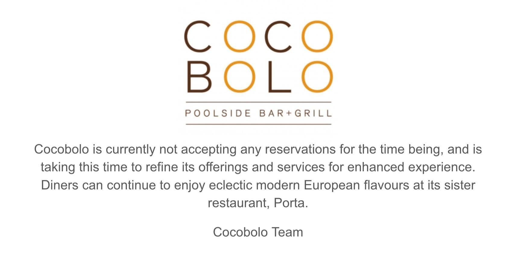 Cocobolo Poolside Bar + Grill