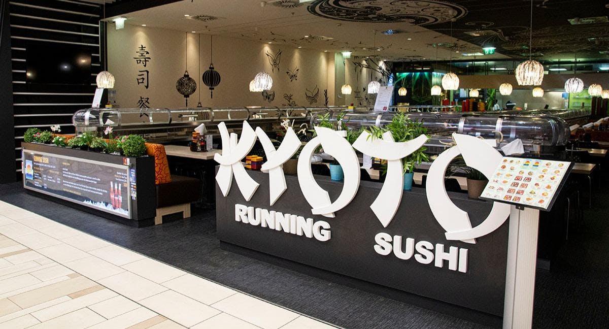 Running Sushi Restaurant sunrise KYOTO