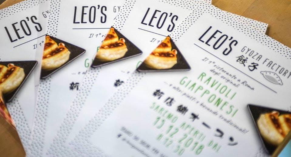 Leo's Gyoza Factory