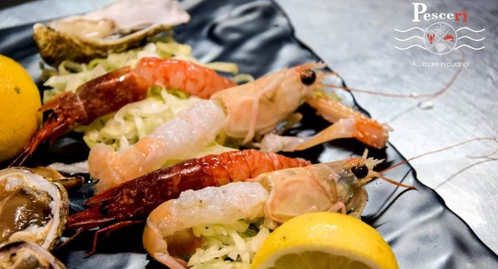 Uno dei piatti a base di pesce del Pescerì di Bari - Fonte: Quandoo