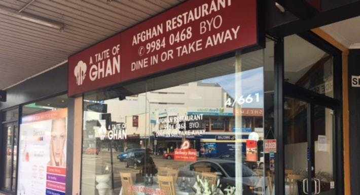 Cuisine of Ghan