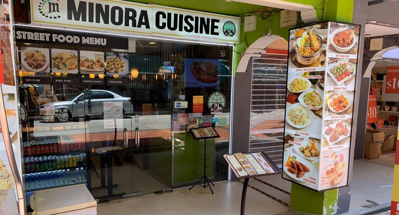 Minora Cuisine - Incredible Indian Food