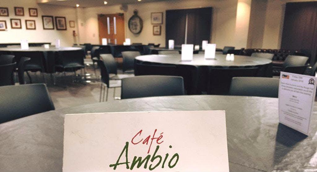 Cafe  Ambio - Junction 36 Keswick image 1
