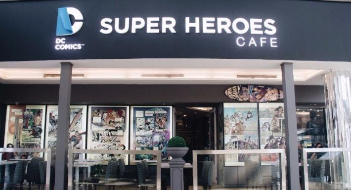 DC Super Heroes Cafe - The Shoppes at Marina Bay Sands Singapore image 2