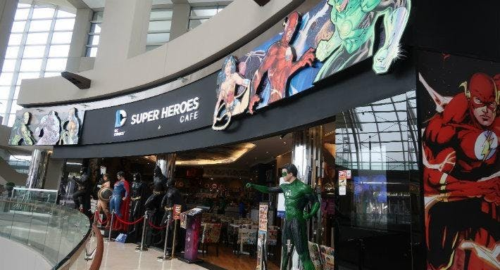 DC Super Heroes Cafe - The Shoppes at Marina Bay Sands Singapore image 1