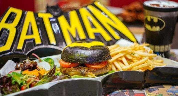 DC Comics Super Heroes Cafe - The Shoppes at Marina Bay Sands
