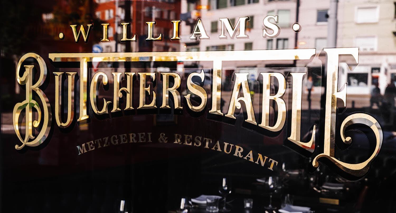 Williams ButchersTable am Hegibachplatz