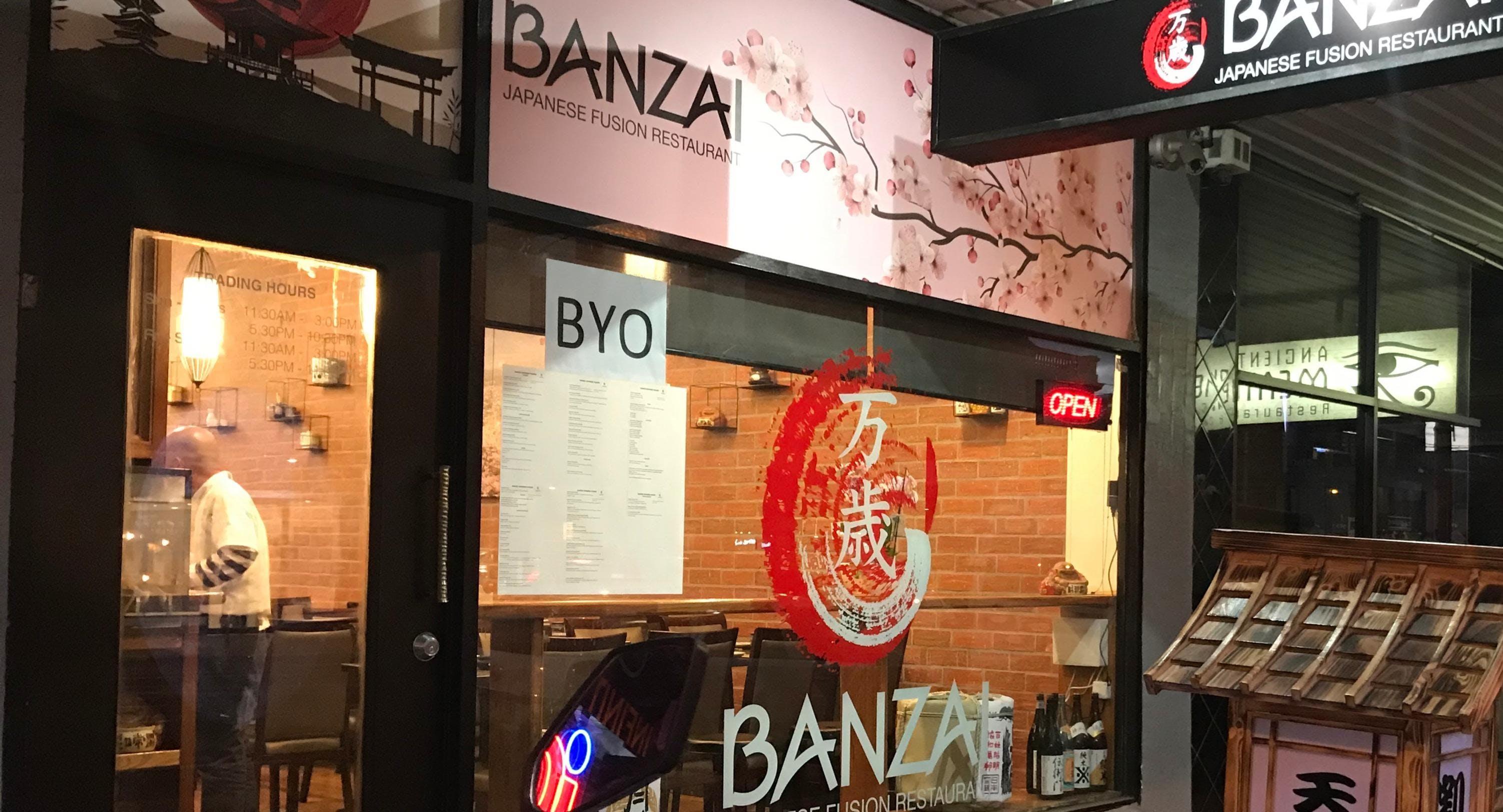 Banzai Japanese Fusion Restaurant Melbourne image 3