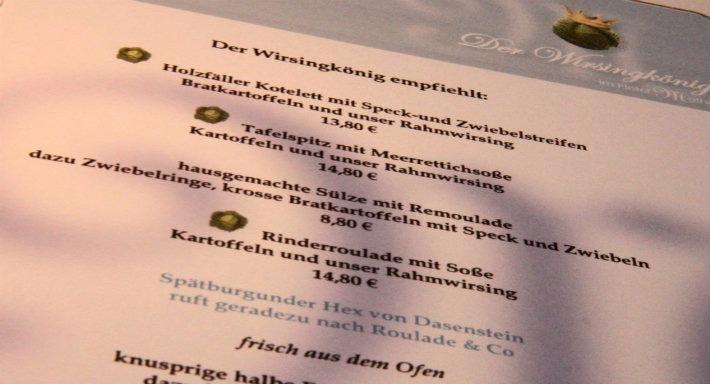 Hotel Matheisen Restaurant Der Wirsingkonig