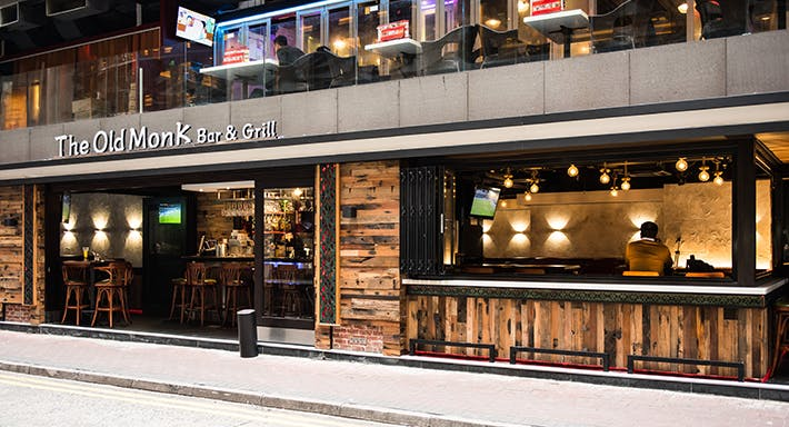 The Old Monk Bar & Grill Hong Kong image 3