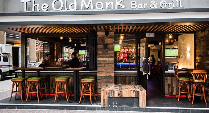 The Old Monk Bar & Grill Hong Kong image 2