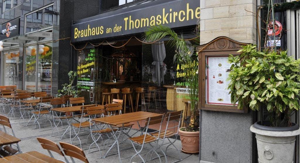 Brauerei An der Thomaskirche Leipzig image 1