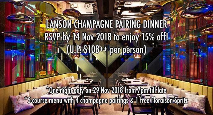 Mitzo Restaurant & Bar Singapore image 1