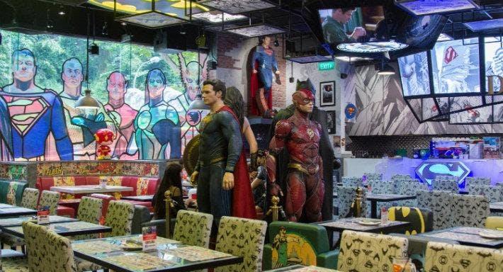 DC Super Heroes Cafe - Takashimaya Singapore image 1