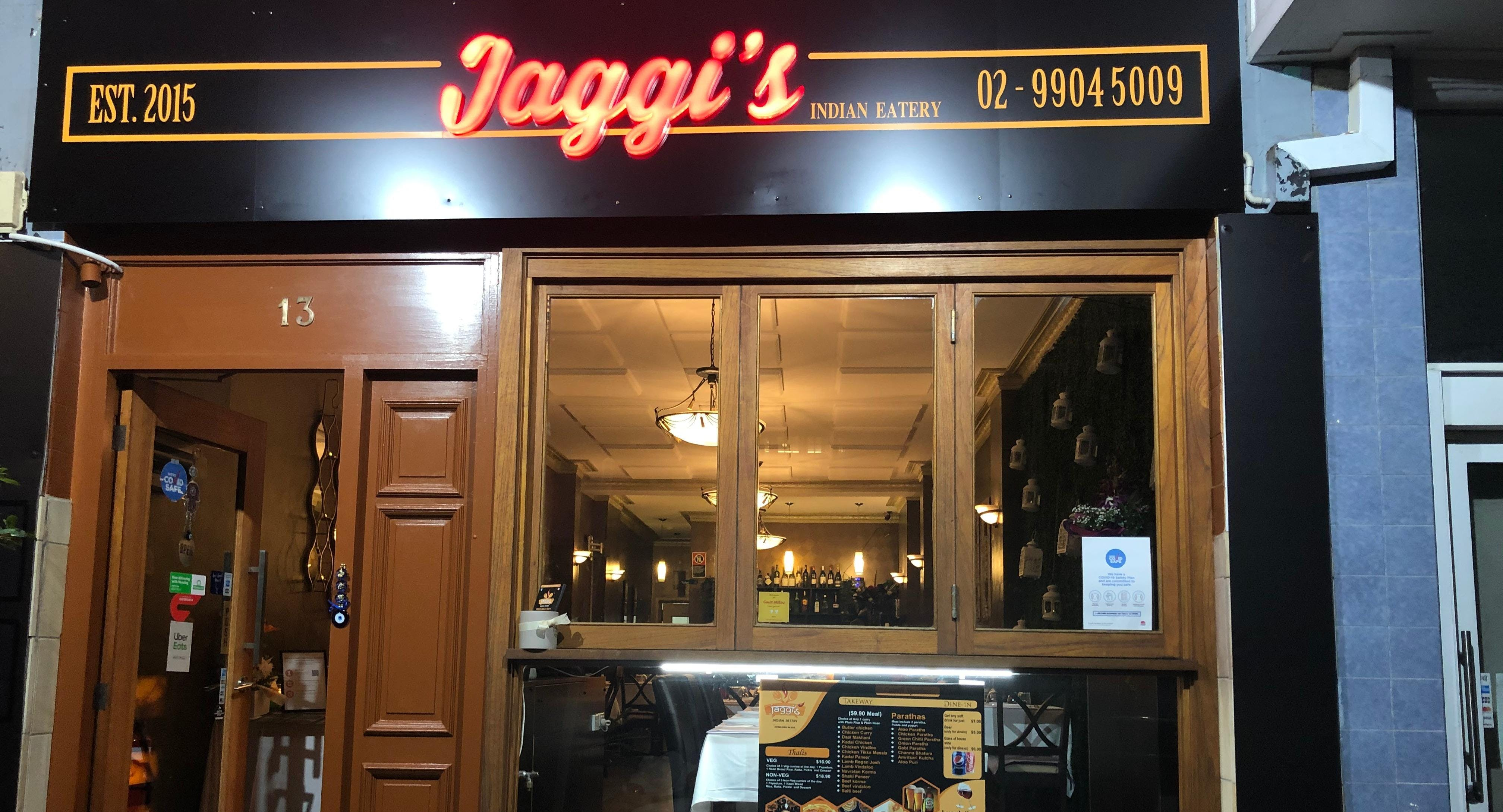 Jaggis Indian Eatery Neutral Bay