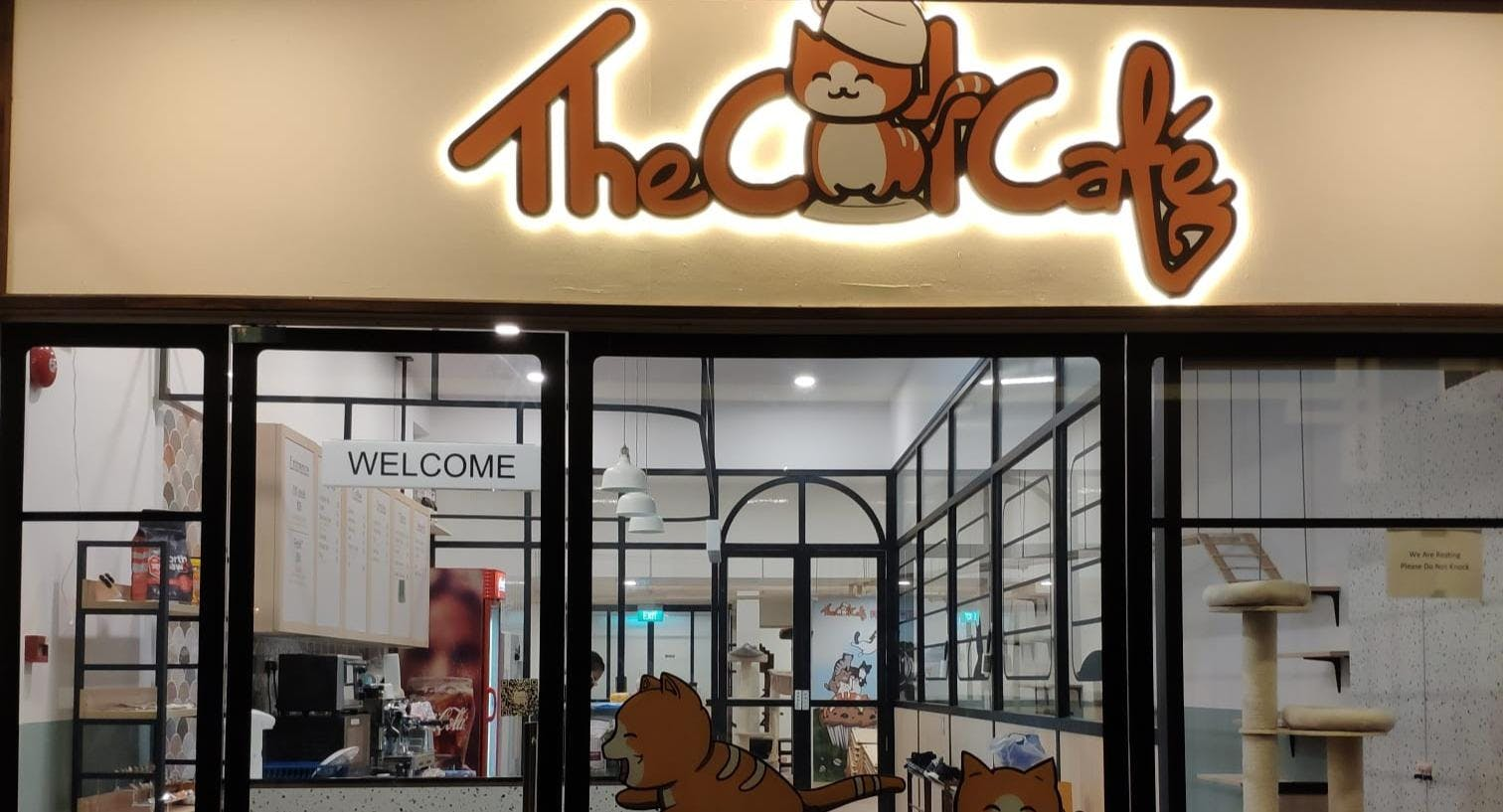 The Cat Cafe - The Rail Mall