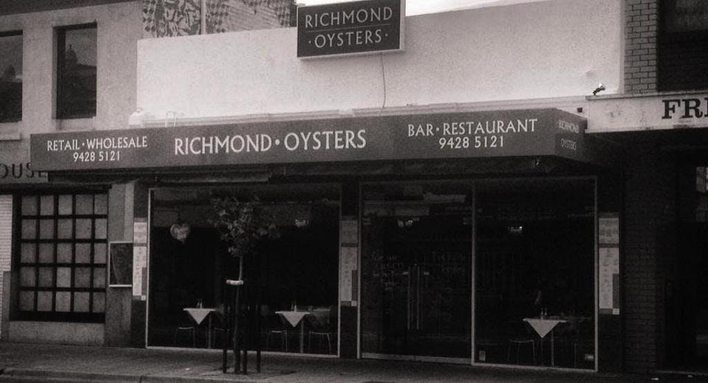 Richmond Oysters Oakleigh Melbourne image 1