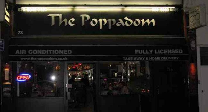 The Poppadom Lounge London image 1
