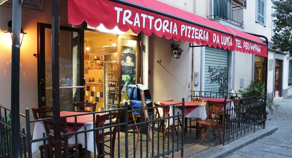 Trattoria e Pizzeria da Luisa Napoli image 1