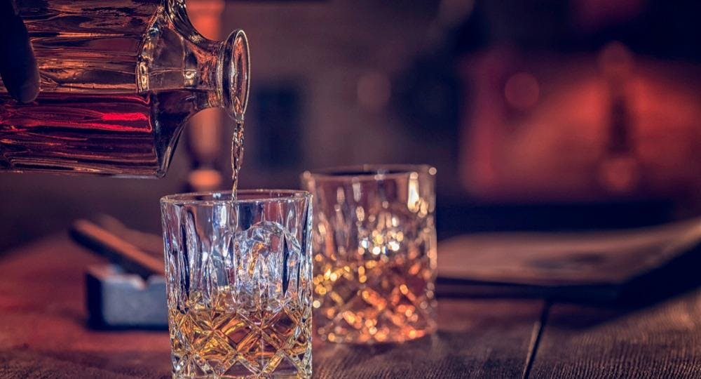 Two Whisky Bottles Singapore image 3