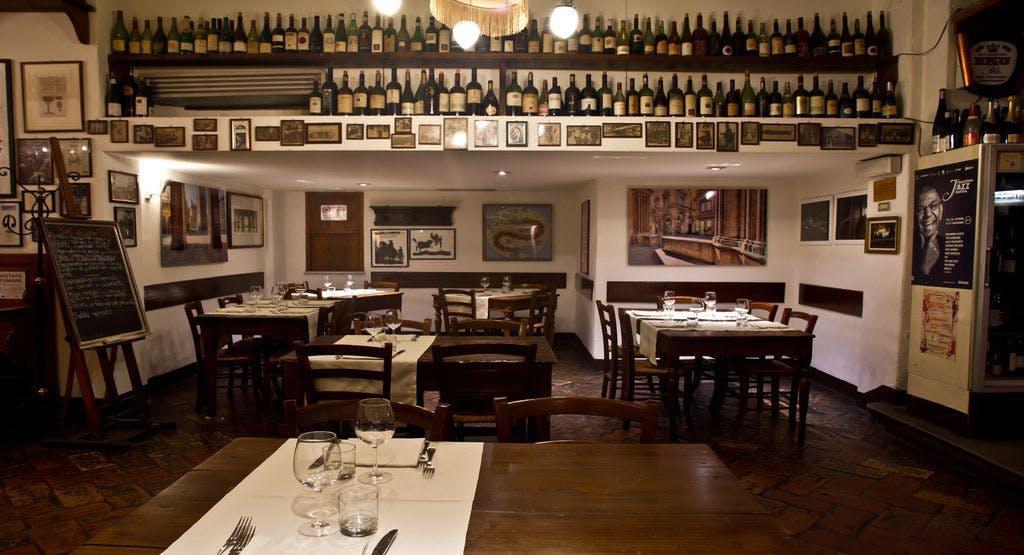 Il suggestivo interno della Cantina Bentivoglio di Bologna - Fonte: Quandoo