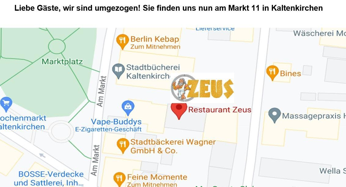 Photo of restaurant Restaurant Zeus in Zentrum, Kaltenkirchen