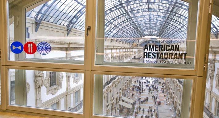 James Beard American Restaurant at Seven Stars Galleria Milano image 11