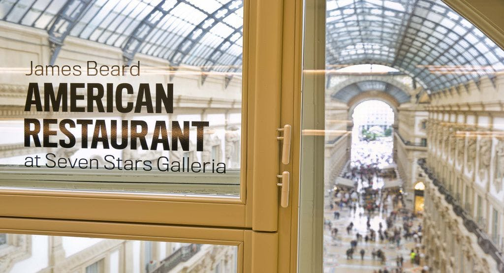 James beard american restaurant at seven stars galleria for Booking milano centro