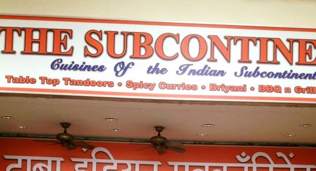 Indian SubContinent Restaurant