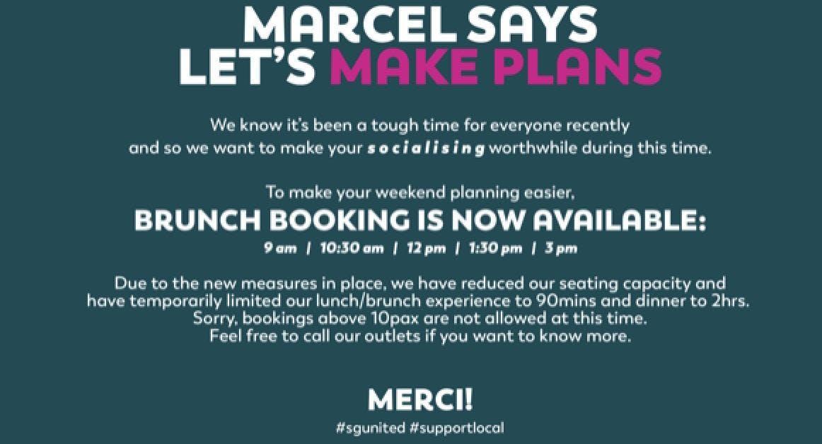 Merci Marcel - Orchard