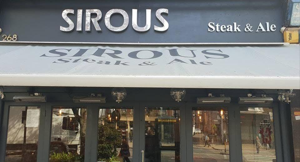 Sirous Steak & Ale Londra image 1