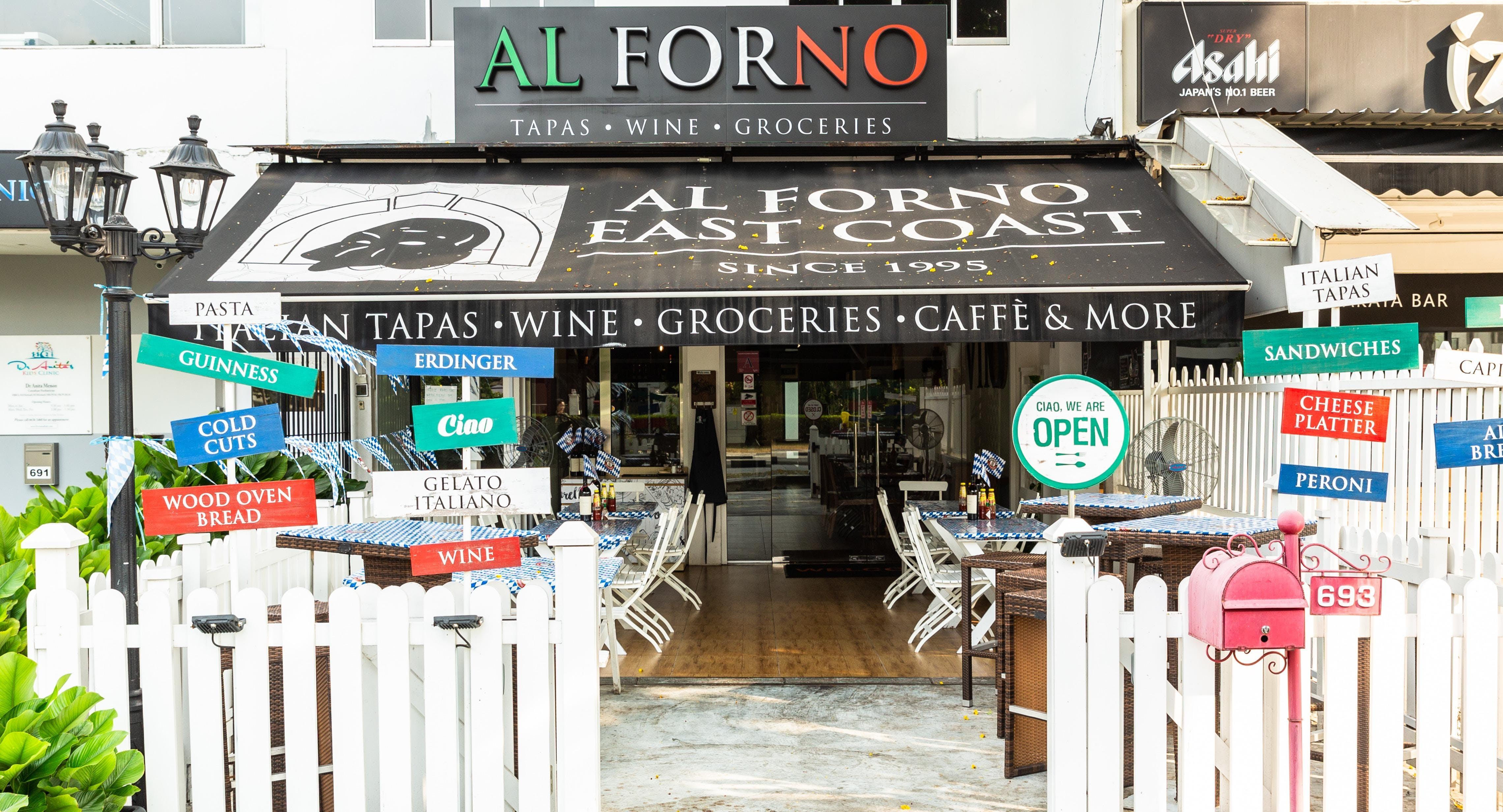 Al Forno Tapas & Wine Bar Singapore image 2