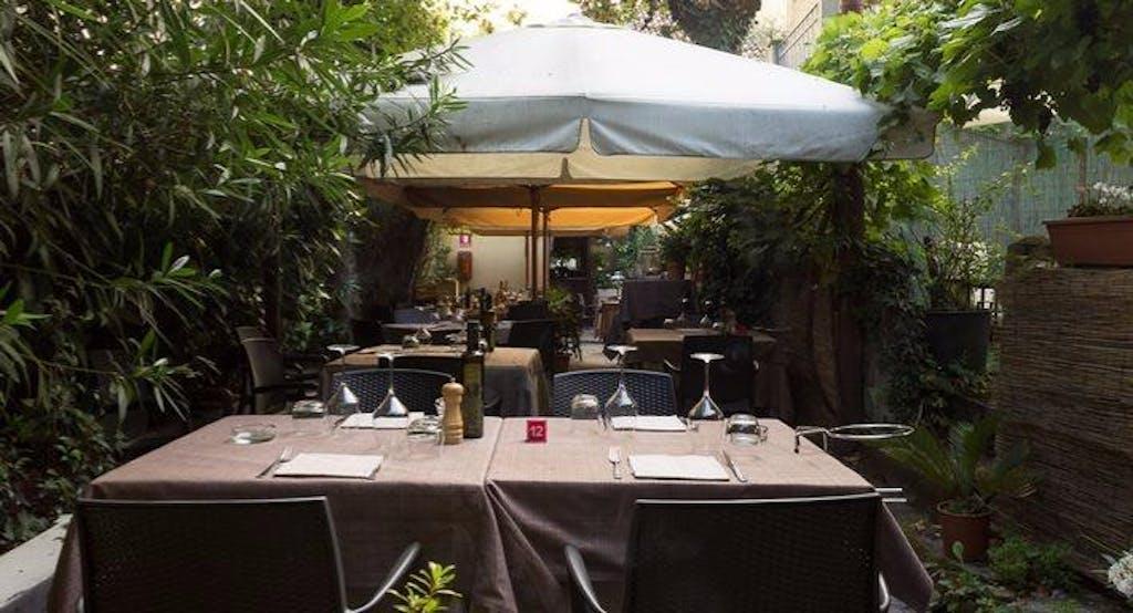 Il cortile interno dell'Angolo Nascosto, ristorante all'aperto di Milano - Fonte: Quandoo