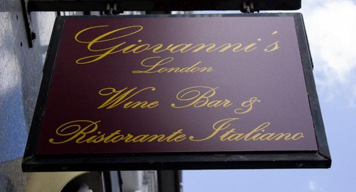 Giovanni's Wine Bar & Ristorante London image 2