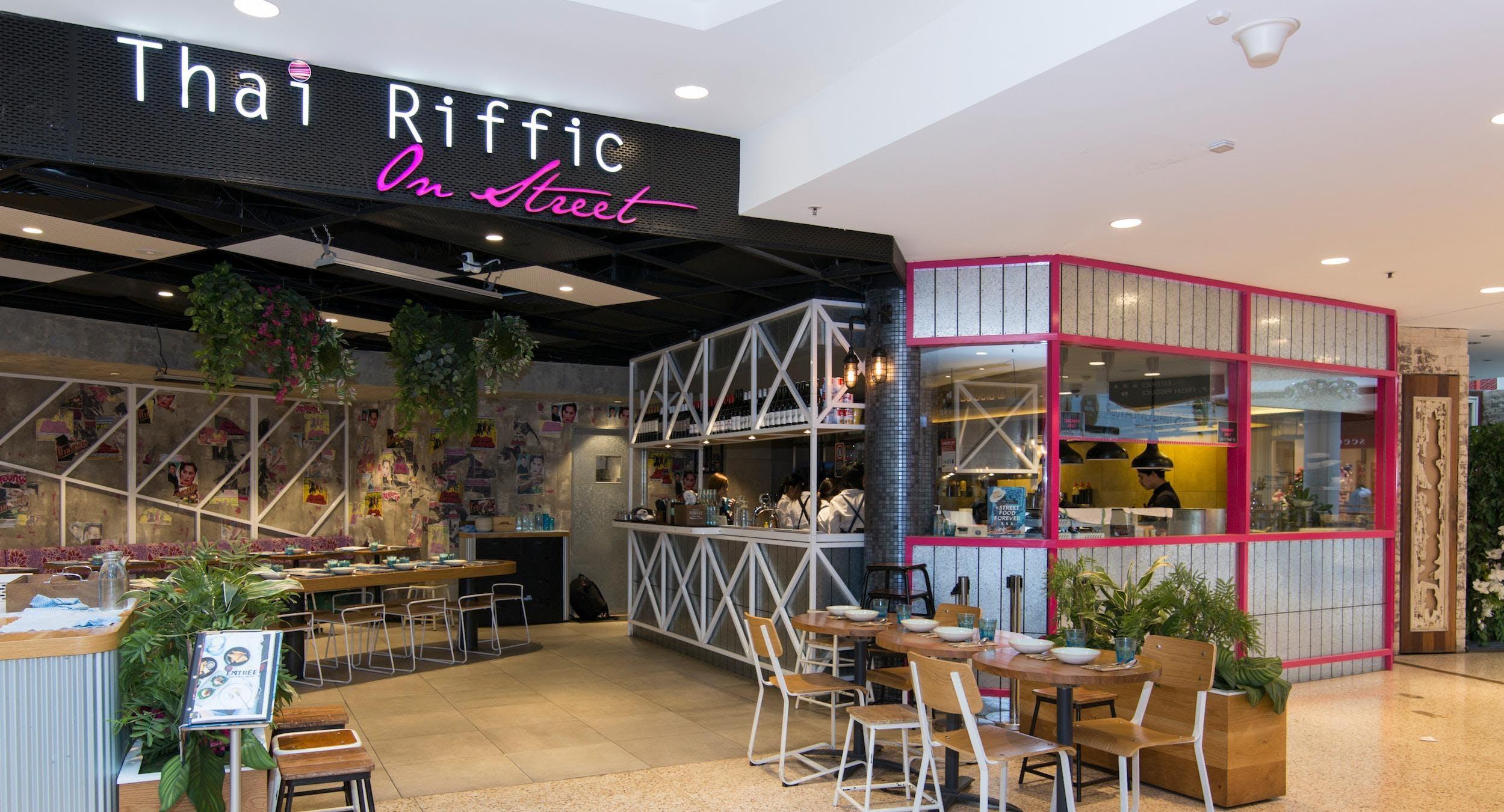 Thai Riffic On Street - Greenwood Plaza
