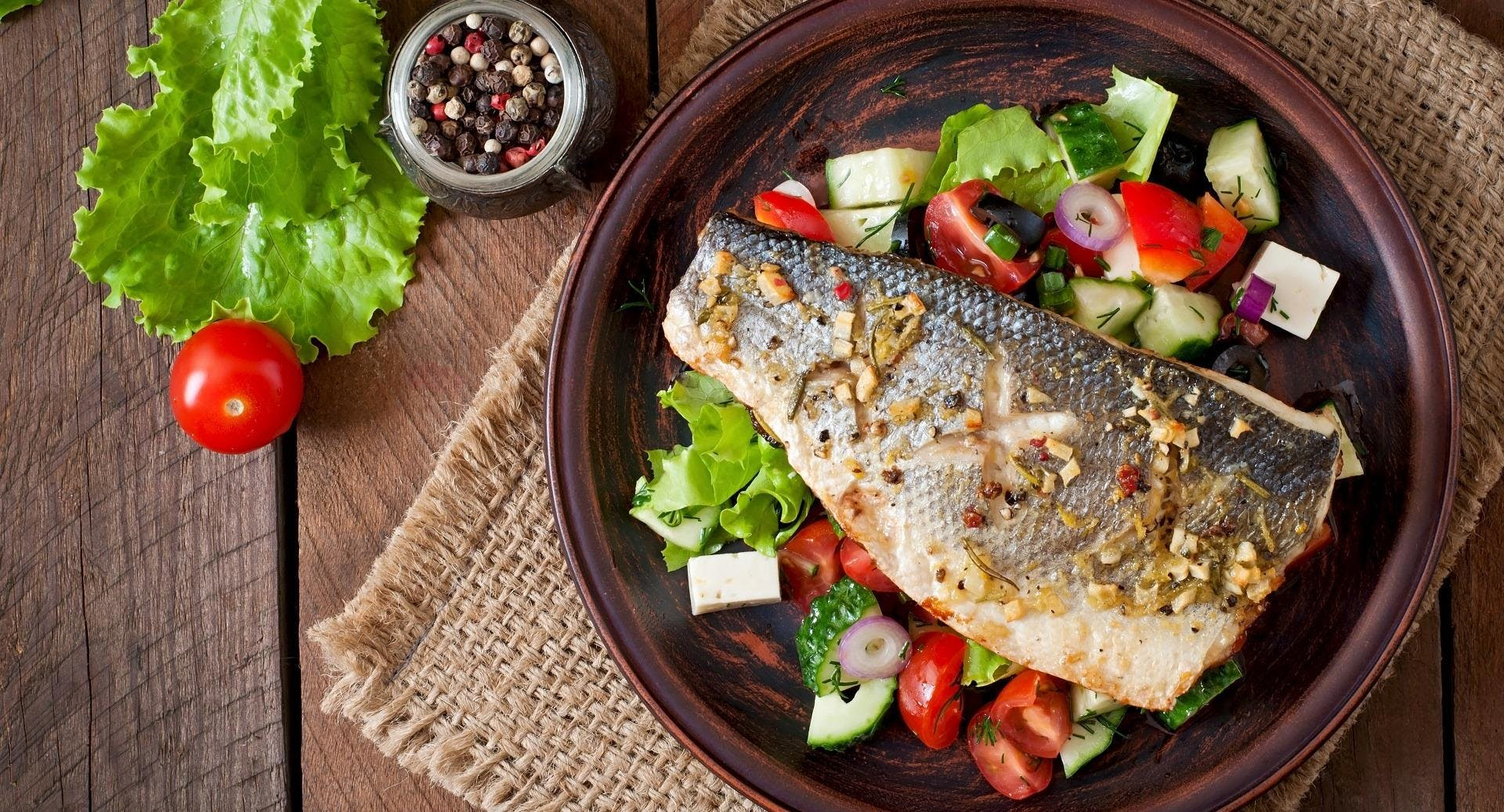 Fischwirt im Urmeer