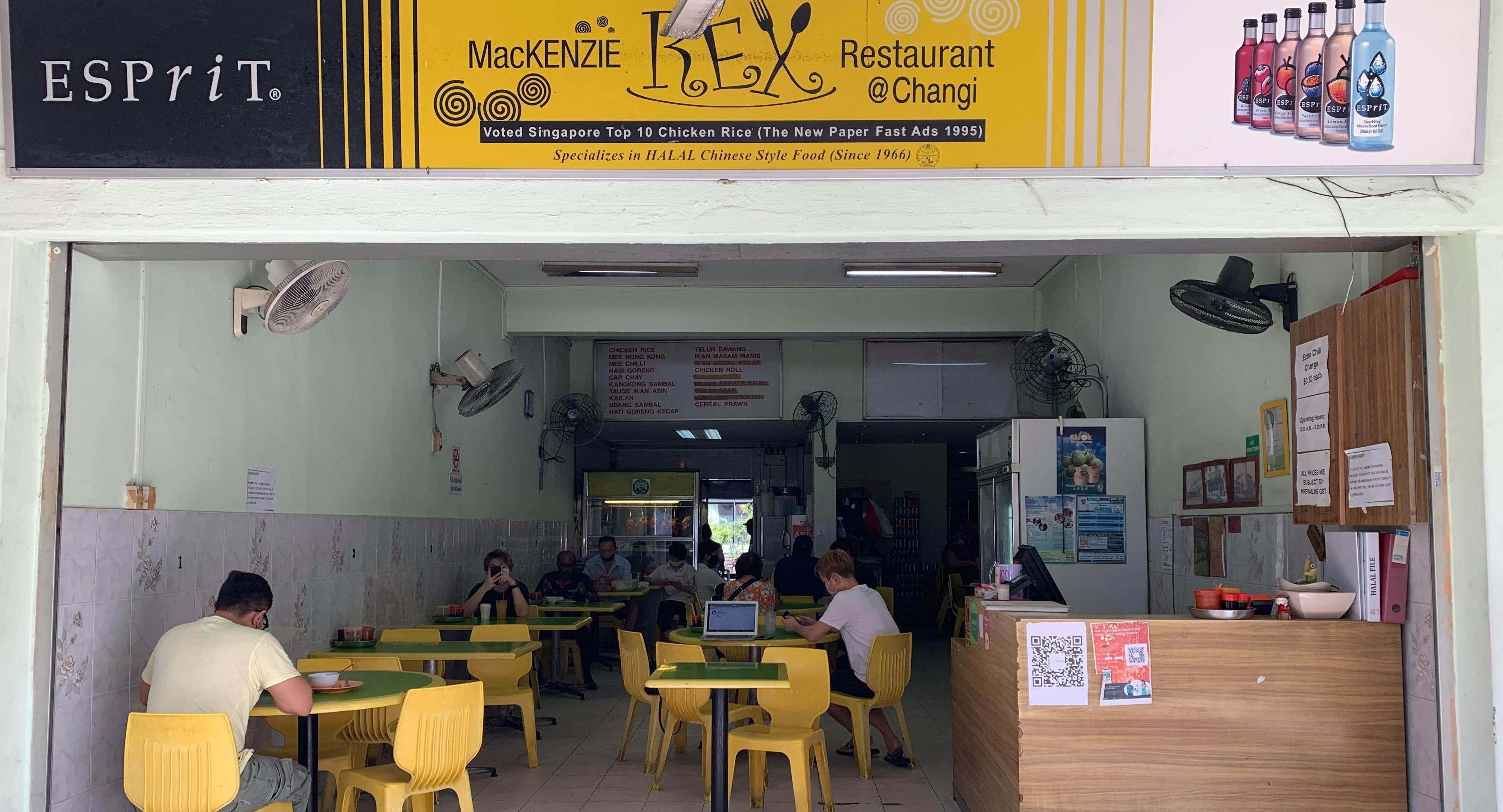 Mackenzie Rex Restaurant, Changi