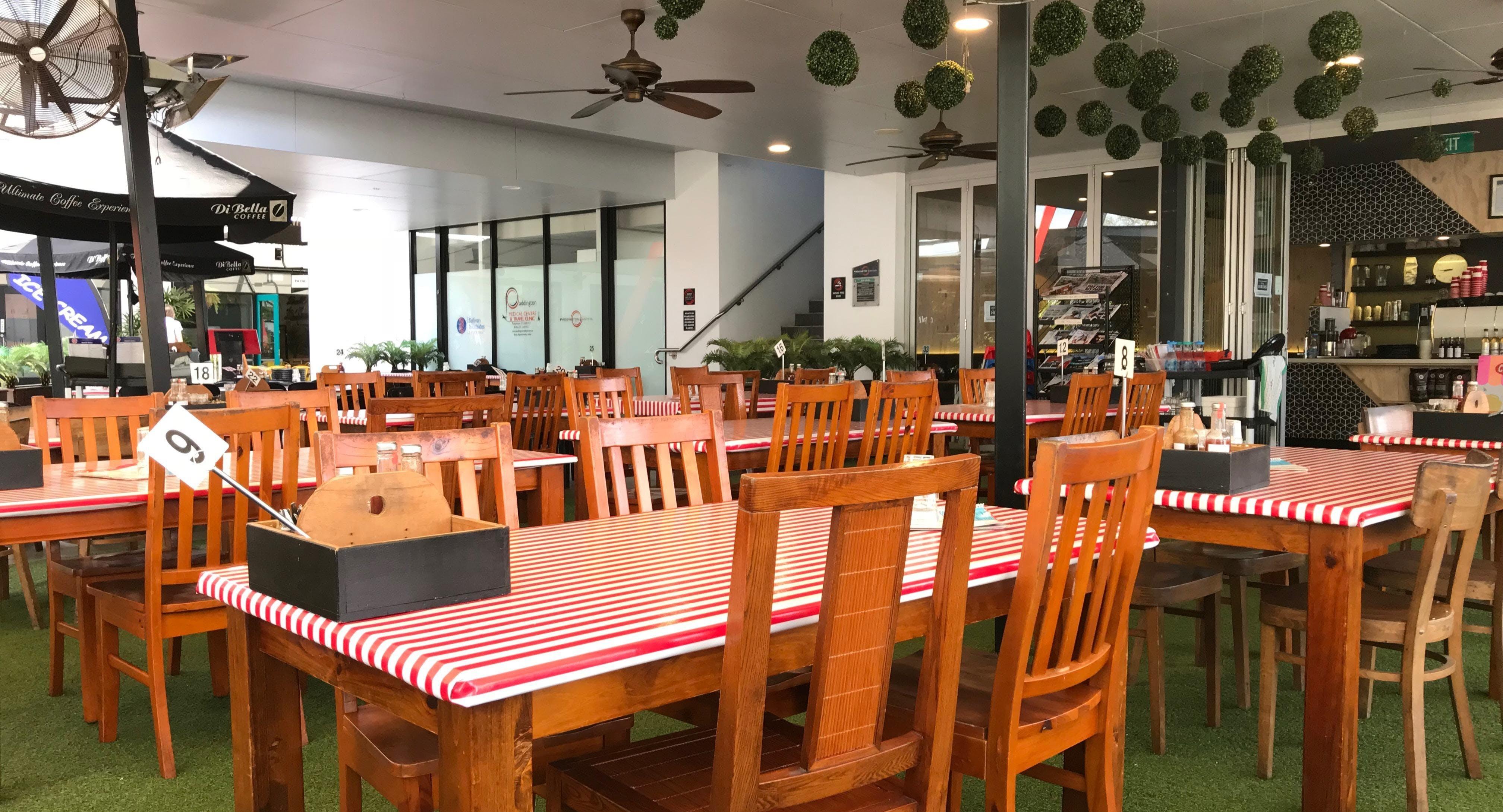 Cafe107 Latrobe Terrace Brisbane image 1