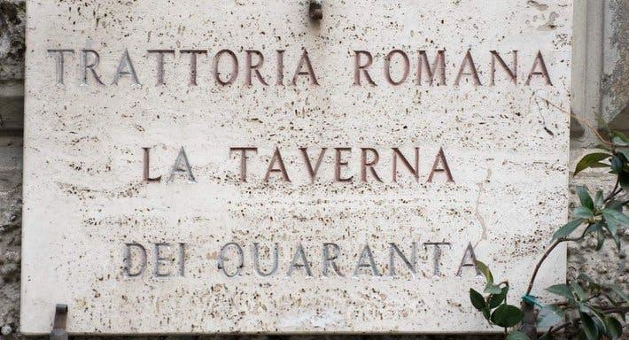 Trattoria Romana La Taverna dei 40 Roma image 3