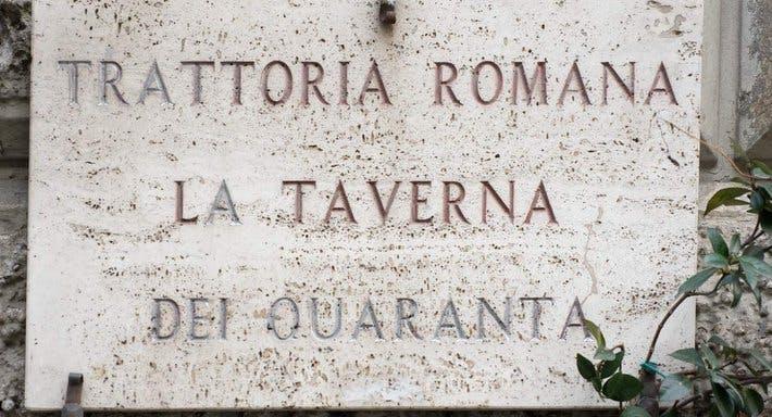 Trattoria Romana La Taverna dei 40 Rom image 3