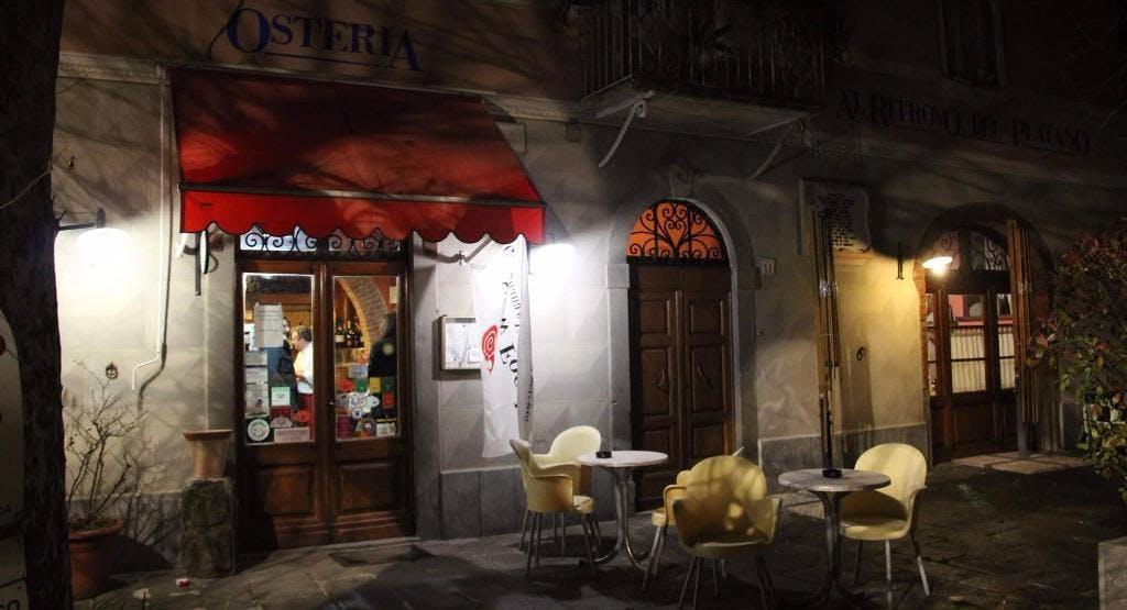 Osteria Al Ritrovo Del Platano Lucca image 1